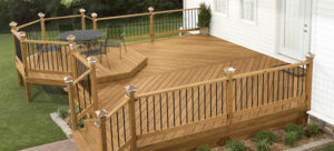 Deck by Fredricks Construction